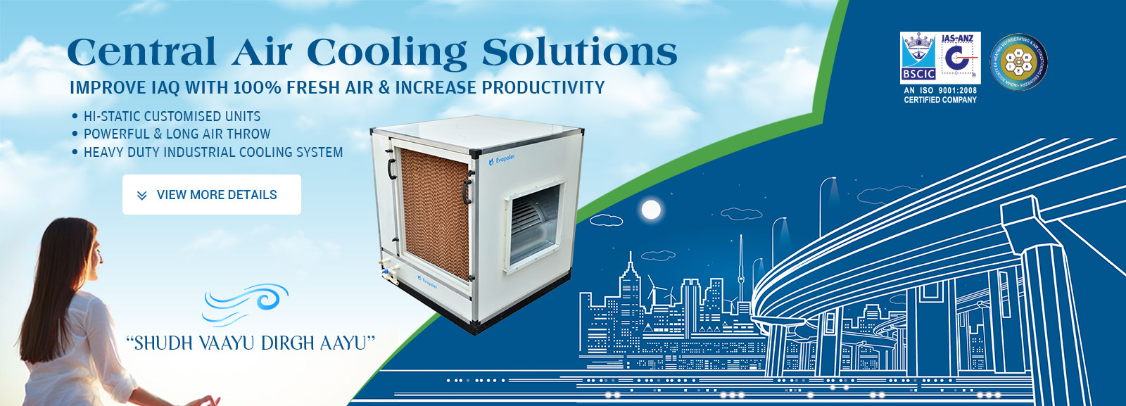 central air cooling solutions