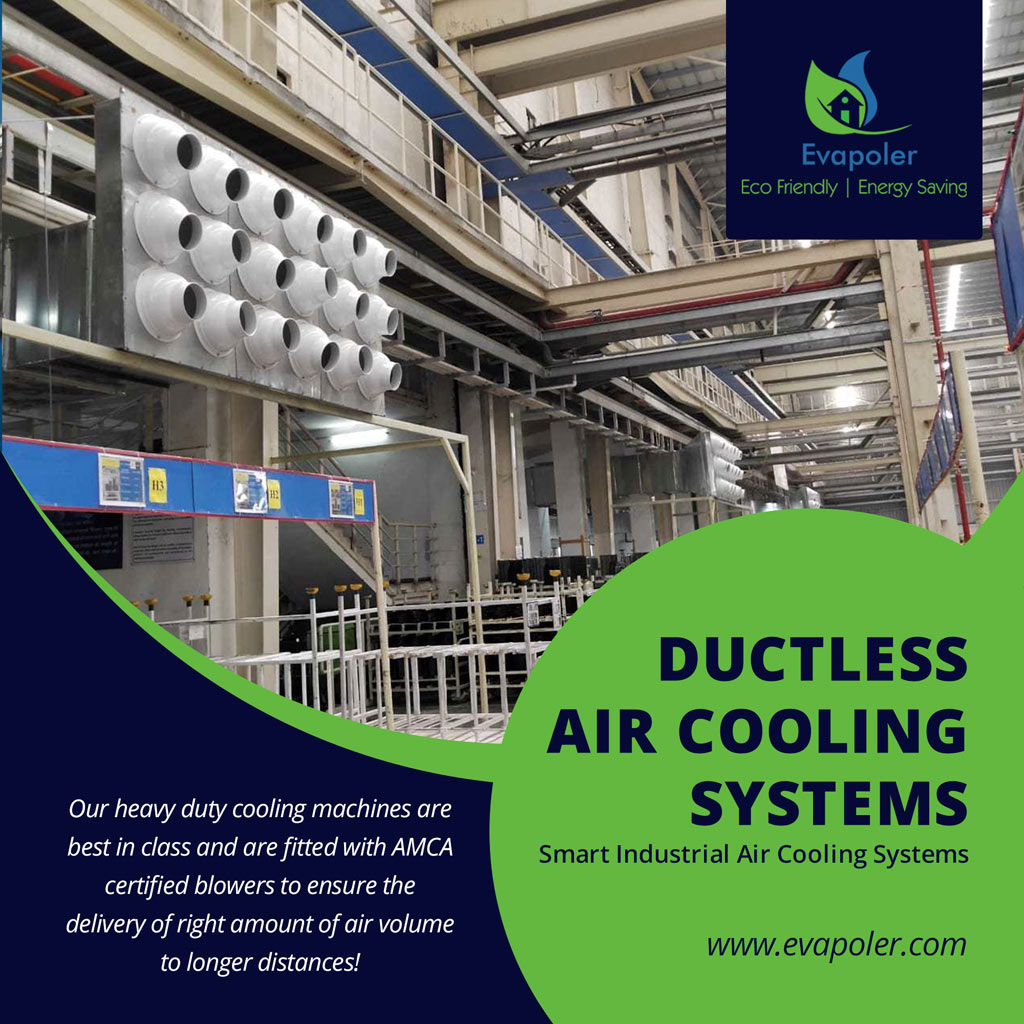 Ductless Air Cooling System
